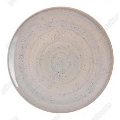 Monaco Тарілка кругла без поля мілка бронзова d-200 мм (Ipec)