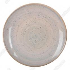 Monaco Тарілка кругла без поля мілка бронзова d-240 мм (Ipec)