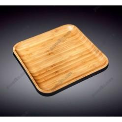 Wilmax bamboo Блюдо квадратне без поля 280 х280 мм (Wilmax)