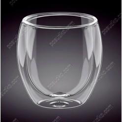 Wilmax thermo Склянка з подвійною стінкою низька 150 мл (Wilmax)