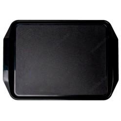 Таця Піднос прямокутний чорний 430 х300 мм (FoREST)