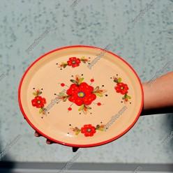 Мак Тарілка кругла мілка d-230 мм (Поділля)
