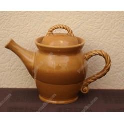 Гірчиця Чайник заварювальний з кришкою 1,0 л (Поділля)