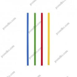 Mojito Трубочки прямі тонкі мікс кольорів d-3 мм, L-210 мм (Інші бренди)