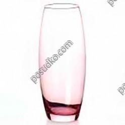 Flora Ваза для квітів бочка Enjoy рожева d-110 мм, h-260 мм (Pasabahce)