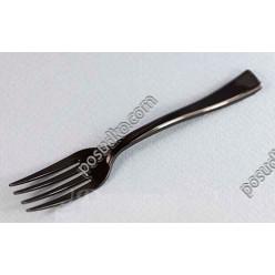 Fork Виделка фуршетна чорна 100 х17 мм (Україна)