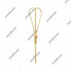 Бамбукові Шпажки серце L-120 мм (China)