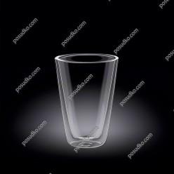 Wilmax thermo Склянка з подвійною стінкою висока конус 250 мл (Wilmax)