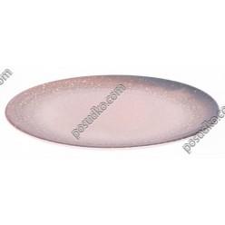 Monaco Тарілка кругла без поля мілка космос d-260 мм (Ipec)