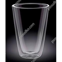 Wilmax thermo Склянка з подвійною стінкою висока конус 500 мл (Wilmax)