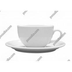 Ameryka Чашка для чаю біла d-115 мм, h-70 мм 350 мл (Lubiana)