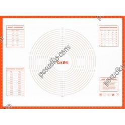 Кондитеру Лист для випічки з розміткою 800 х600 мм (Con Brio)